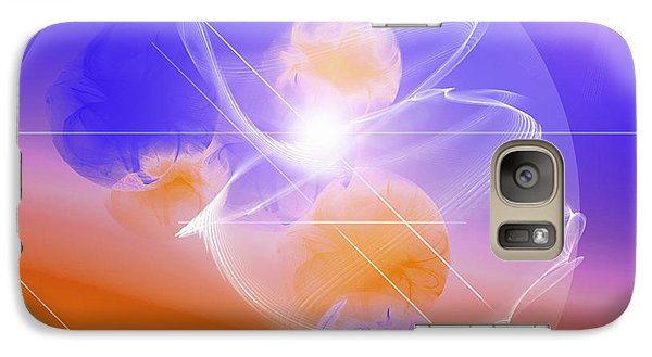 Galaxy Case featuring the digital art Epiphany by Ute Posegga-Rudel