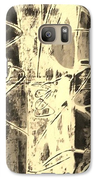 Galaxy Case featuring the painting  Equity by Carol Rashawnna Williams