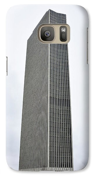 Galaxy Case featuring the photograph Erastus Corning Tower In Albany New York by Brendan Reals