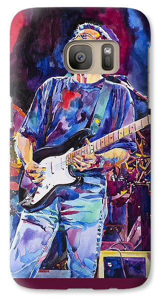 Eric Clapton Galaxy S7 Case - Eric Clapton And Blackie by David Lloyd Glover