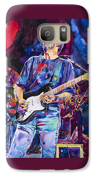 Eric Clapton And Blackie Galaxy Case by David Lloyd Glover