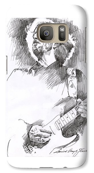 Eric Clapton Sustains Galaxy S7 Case by David Lloyd Glover