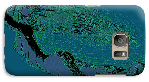 Galaxy Case featuring the painting Escape by Tbone Oliver