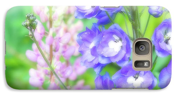 Galaxy Case featuring the photograph Escape To The Garden by Bonnie Bruno