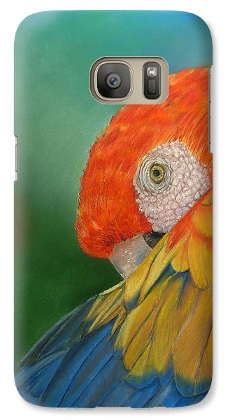 Galaxy Case featuring the painting Escondida by Ceci Watson