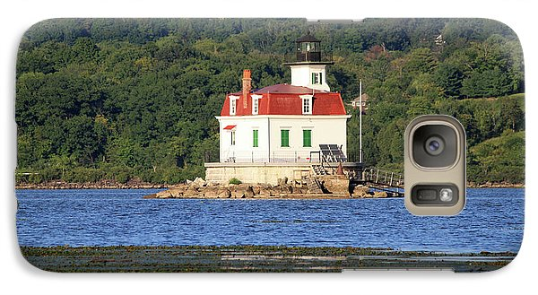 Galaxy Case featuring the photograph Esopus Lighthouse In Summer #4 by Jeff Severson