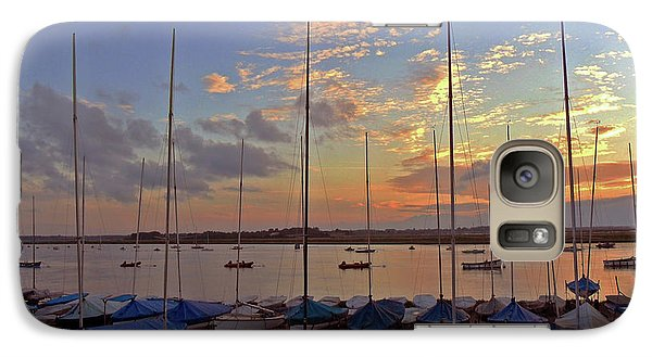 Galaxy Case featuring the photograph Estuary Evening by Anne Kotan