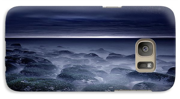 Galaxy Case featuring the photograph Eternal Horizon by Jorge Maia