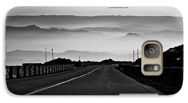 Galaxy Case featuring the photograph Etna Road by Bruno Spagnolo