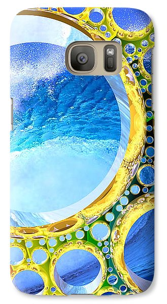 Galaxy Case featuring the digital art Euphoria by Andreas Thust