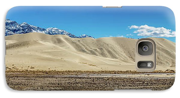 Galaxy Case featuring the photograph Eureka Dunes - Death Valley by Peter Tellone