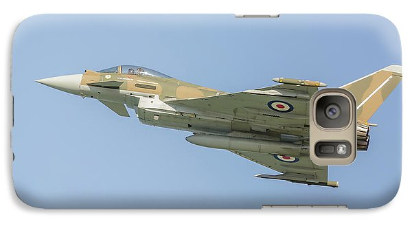 Galaxy Case featuring the photograph Euro Fighter by Roy McPeak