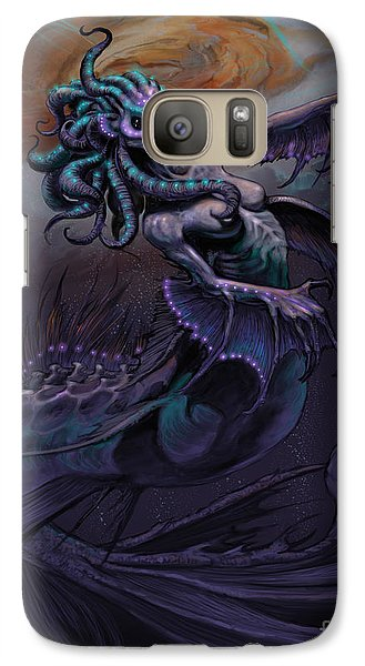 Galaxy Case featuring the digital art Europa Mermaid by Stanley Morrison