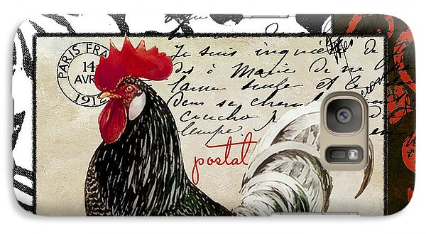 Europa Rooster IIi Galaxy S7 Case by Mindy Sommers