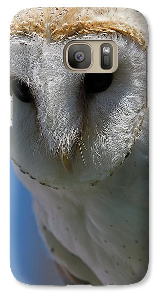 Galaxy Case featuring the photograph European Barn Owl by JT Lewis