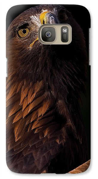 Galaxy Case featuring the photograph European Golden Eagle by JT Lewis