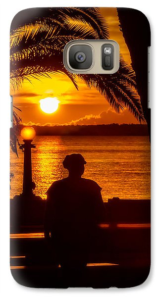 Galaxy Case featuring the photograph Eustis Sunset by Christopher Holmes