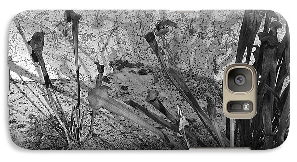 Galaxy Case featuring the photograph Even The Shadows Dance by Mary Sullivan