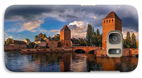 Galaxy Case featuring the photograph Evening After The Rain On The Ponts Couverts by Dmytro Korol