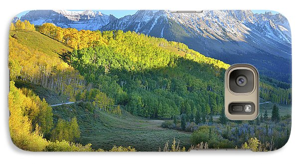 Galaxy Case featuring the photograph Evening Along County Road 7 by Ray Mathis