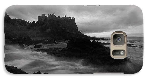Galaxy Case featuring the photograph Evening At Dunluce by Roy  McPeak