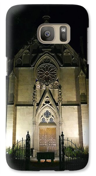 Galaxy Case featuring the photograph Evening At Loretto Chapel Santa Fe by Kurt Van Wagner