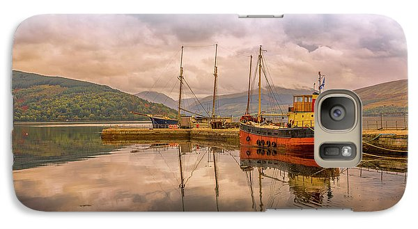 Galaxy Case featuring the photograph Evening At The Dock by Roy McPeak