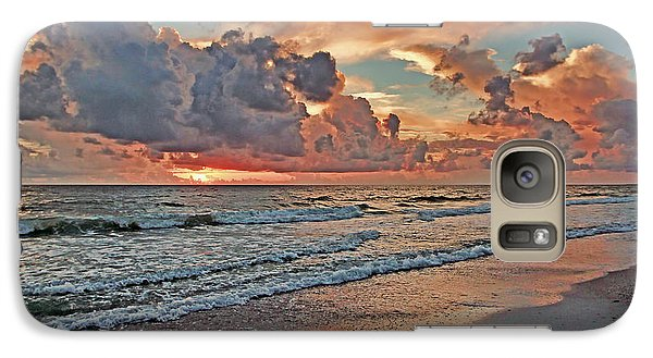 Galaxy Case featuring the photograph Evening Clouds by HH Photography of Florida