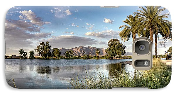 Evening Fishing Galaxy S7 Case by Lynn Geoffroy