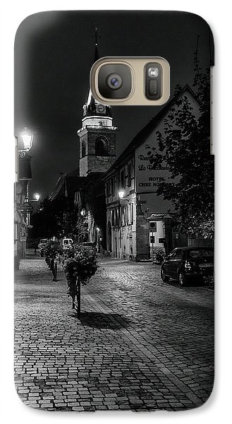 Galaxy Case featuring the photograph Evening In Bergheim by Alan Toepfer