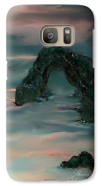 Galaxy Case featuring the painting Evening In Cabo by Sherri  Of Palm Springs