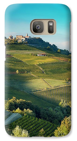 Galaxy Case featuring the photograph Evening In Piemonte by Brian Jannsen
