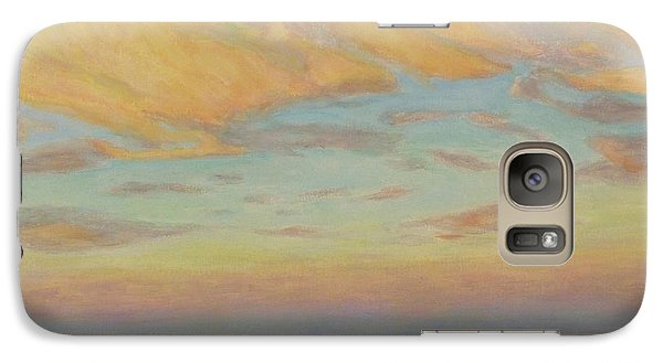 Galaxy Case featuring the painting Evening by Joe Bergholm