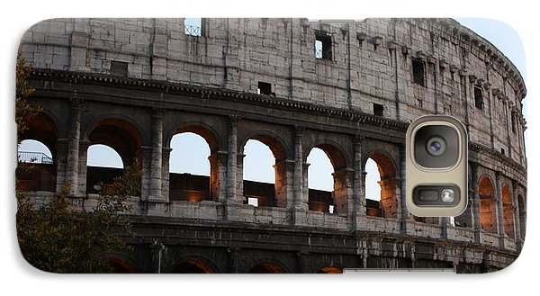 Galaxy Case featuring the photograph Evening Light In Rome by Pat Purdy