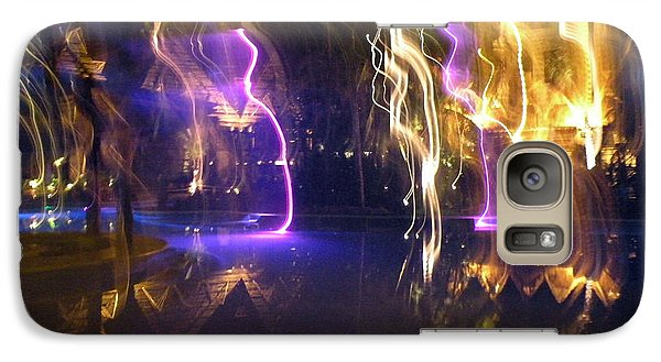 Galaxy Case featuring the photograph Evening Light Show At The Grand Mayan by Dianne Levy