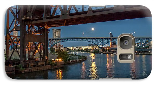 Galaxy Case featuring the photograph Evening On The Cuyahoga River by Brent Durken