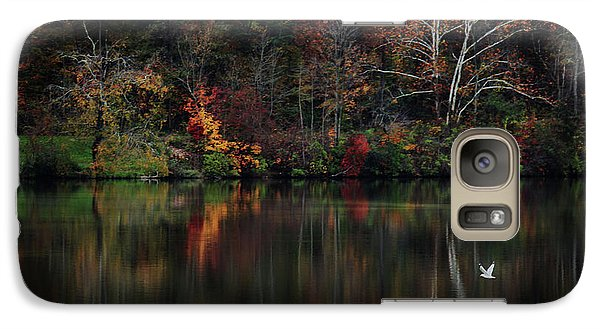Galaxy Case featuring the photograph Evening On The Lake by Rowana Ray
