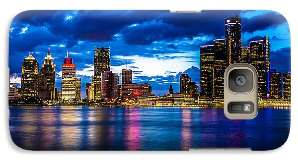 Evening On The Town Galaxy Case by Cindy Lindow