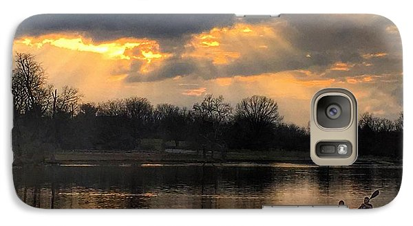 Galaxy Case featuring the photograph Evening Relaxation by Sumoflam Photography