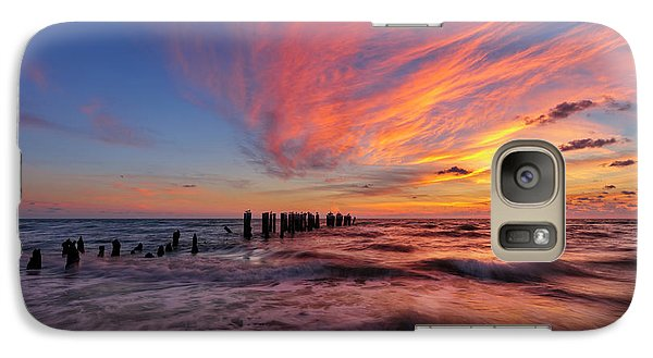 Galaxy Case featuring the photograph Evening Rush by Mike Lang