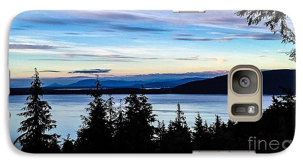 Galaxy Case featuring the photograph Evening Sky by William Wyckoff