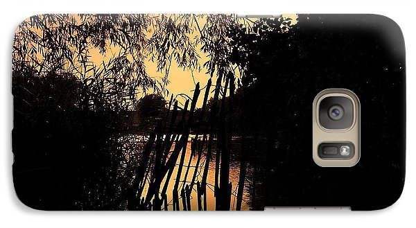 Galaxy Case featuring the photograph Evening Time by Keith Elliott
