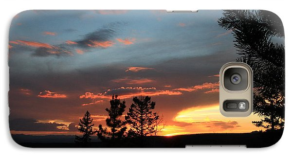 Galaxy Case featuring the photograph Evening View  by Edward R Wisell