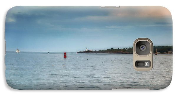 Galaxy Case featuring the photograph Evening Voyages by Richard Bean