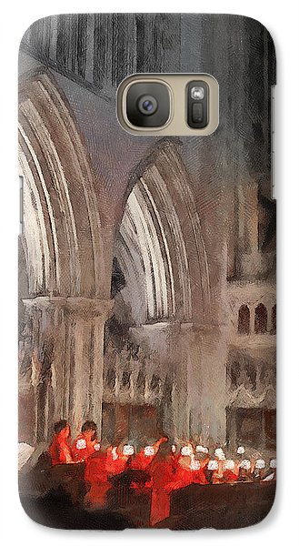 Evensong Practice At Wells Cathedral Galaxy S7 Case