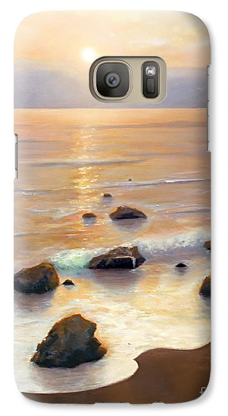 Galaxy Case featuring the painting Eventide by Michael Rock