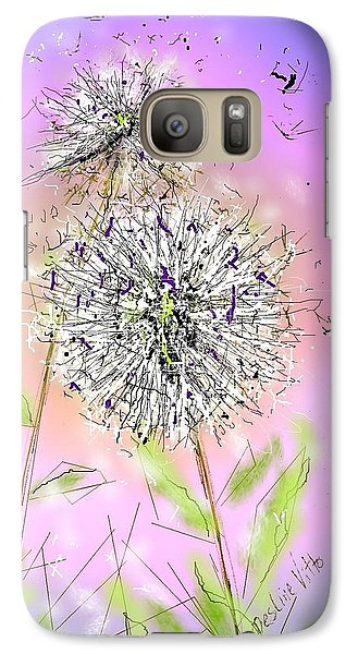 Galaxy Case featuring the digital art Ever So by Desline Vitto