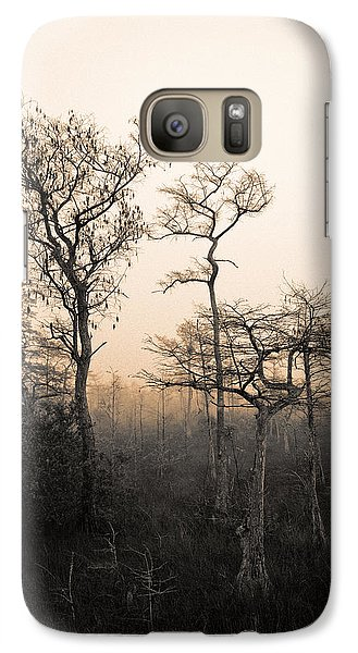 Galaxy Case featuring the photograph Everglades Cypress Stand by Gary Dean Mercer Clark
