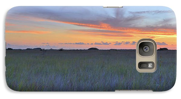 Galaxy Case featuring the photograph Everglades Sunset Panorama by Stephen  Vecchiotti