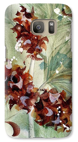 Galaxy Case featuring the painting Evergreen Branch by Dawn Derman